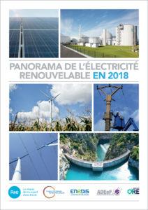 Panorama de l'électricité renouvelable au 31 décembre 2018