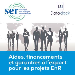 Aides, financements et garanties à l'export pour les projets EnR