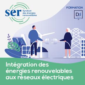 Formation SER : Intégration des EnR aux réseaux électriques
