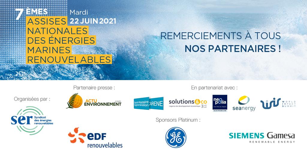 Assises nationales des énergies marines renouvelables